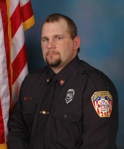 Firefighter Nicholas Baker